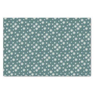 Green Daisy Patterned gift wrap Tissue Paper