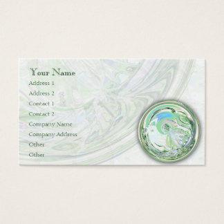 Green Dance Mandala - Business Card