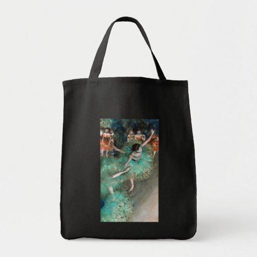 Green Dancer (Danseuse Verte) Edgar Degas Bag