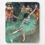 Green Dancer (Danseuse Verte) Edgar Degas Mouse Pad