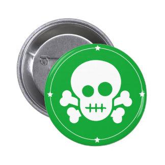 Green Danger cute design -beautiful button