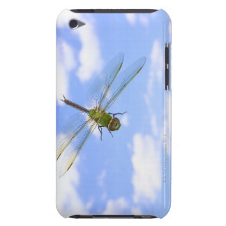 Green darner (Anax junius) flying against clouds Case-Mate iPod Touch Case