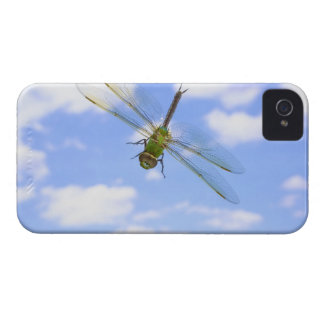 Green darner (Anax junius) flying against clouds iPhone 4 Case-Mate Cases