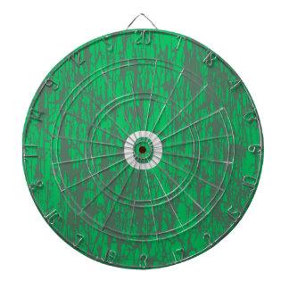 Green dart board