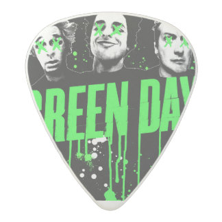 Green Day Guitar Plectrum