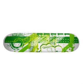 green day skateboard