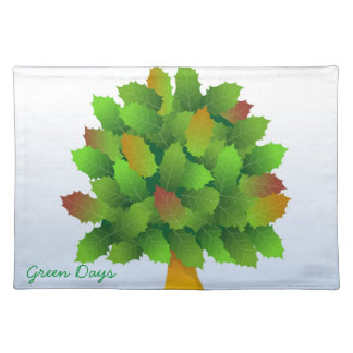 green days placemat