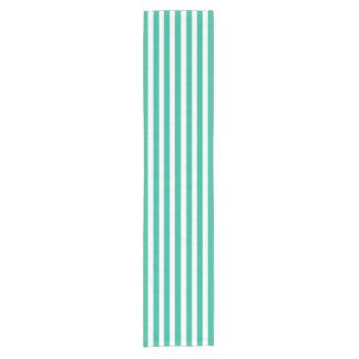 Green Deckchair Stripes Short Table Runner