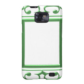 GREEN Decorative Border : Think multi uses Galaxy SII Covers