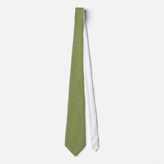 Green delicate design Tie