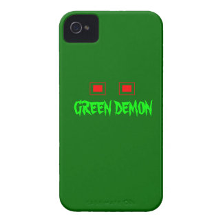 Green Demon Black Berry Bold iPhone 4 Case-Mate Case