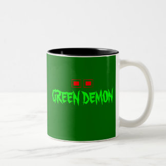 Green Demon coffee mug