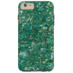 Green Diamond Marble iPhone 6 Plus Tough Case
