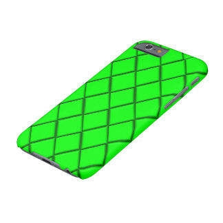 Green diamond print barely there iPhone 6 case