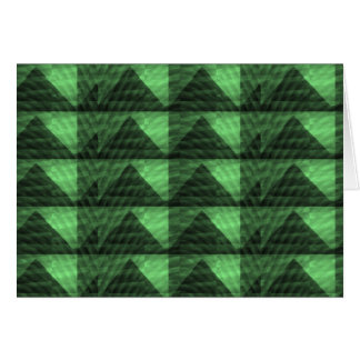 GREEN Diamond PYRAMID cut Gifts  LOWPRICE STORE Greeting Card