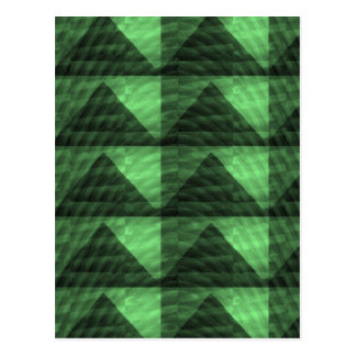 GREEN Diamond PYRAMID cut Gifts LOWPRICE STORE Post Card