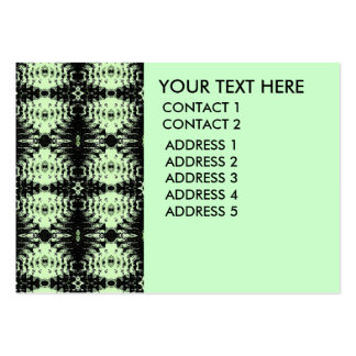 green diamonds pack of chubby business cards