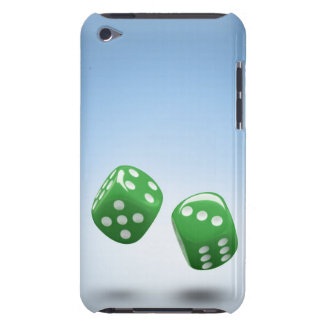 Green dice barely there iPod cover