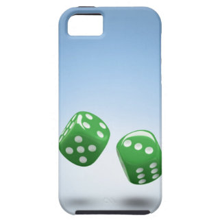 Green dice iPhone 5 case