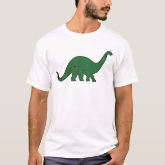 Green Dino distressed T-Shirt