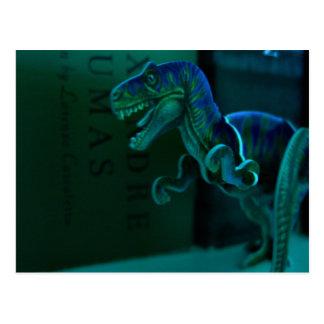 Green Dino Postcards