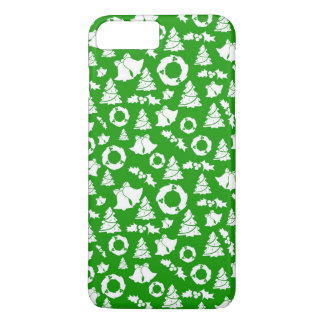 Green Ditzy Christmas Characters   Phone Case