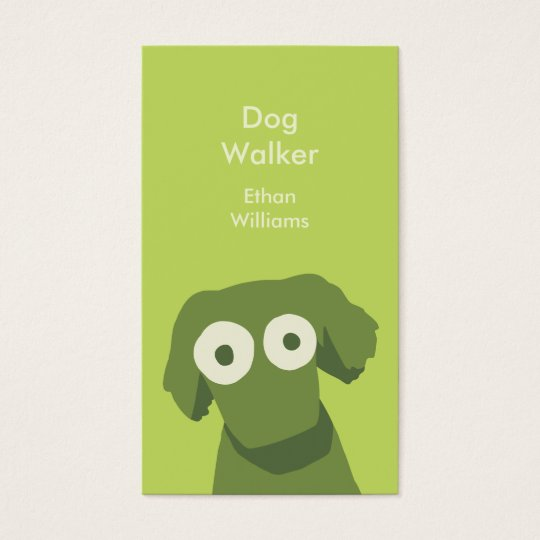 Green Dog Business Card