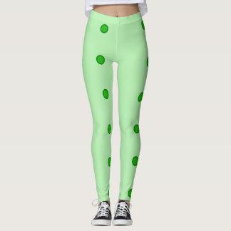 Green Dot Leggings