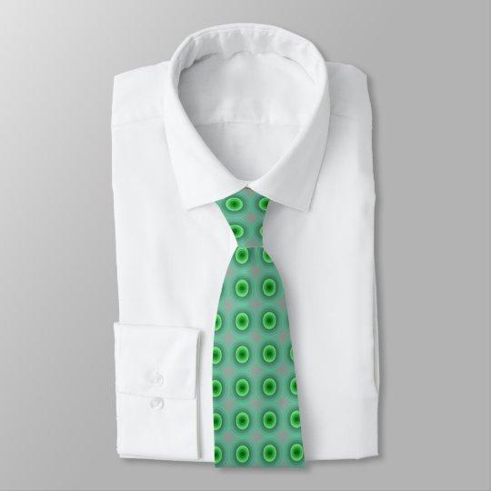 Green Dot Men's Tie