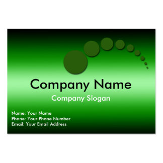 Green Dots Pack Of Chubby Business Cards