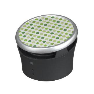 Green Dotted Speaker