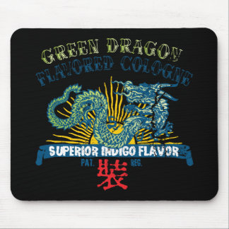 Green Dragon Cologne Mouse Pad