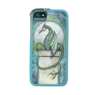 Green Dragon Fantasy Art by Molly Harrison iPhone 5/5S Case
