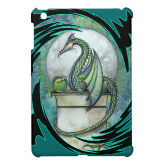 Green Dragon Fantasy Art iPad Mini Case