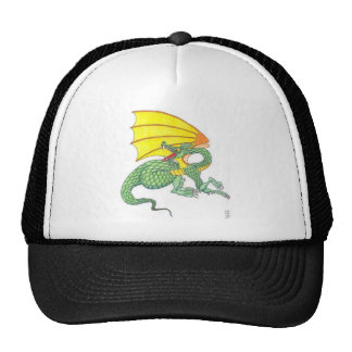 Green Dragon Hats