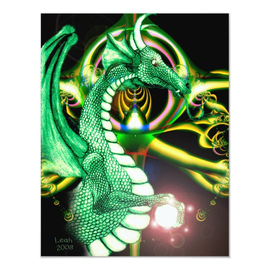 Green Dragon ~*Lore*~ Card
