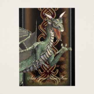 Green Dragon Luxury Gold Profile Card