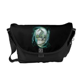 Green Dragon Messenger Bag