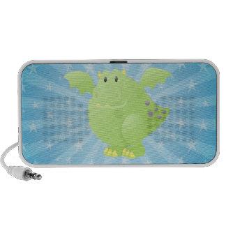 Green Dragon Monster iPod Speaker