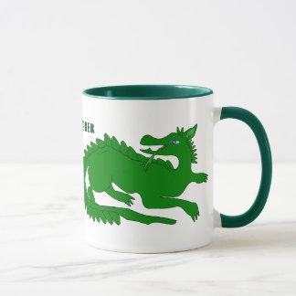 Green Dragon Personalized Mug