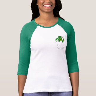 Green Dragon Pocket Pet T-Shirt