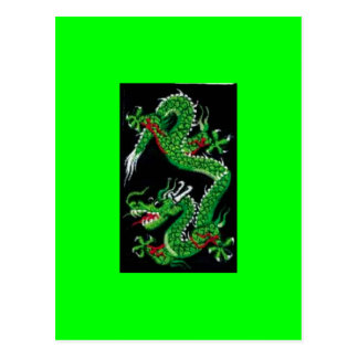 Green Dragon Postcard