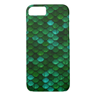 Green Dragon Scale Phone Case