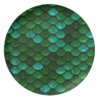 Green Dragon Scale Plate