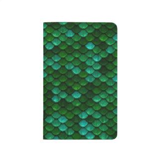 Green Dragon Scale Pocket Journal