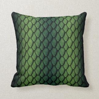 Green Dragon Scales Cushions