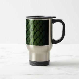 Green Dragon Scales Mugs