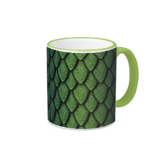 Green Dragon Scales Coffee Mug