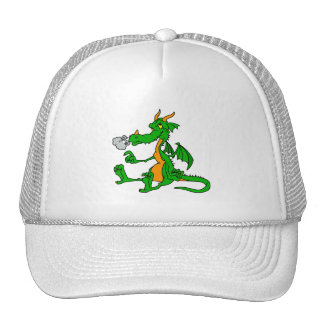 Green Dragon Sitting Hat