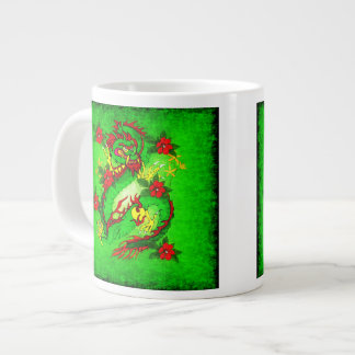 Green Dragon Extra Large Mug